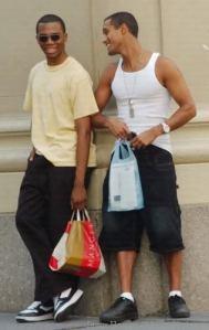 Jordan Chandler (jobbra, atlétatrikóban) néhány évvel ezelőtt