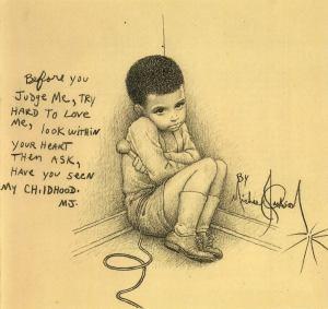 Michael Jackson egyik rajza - Dimond legnagyobb sajnálatára a sztár nem rajzolt meztelen fiúkat