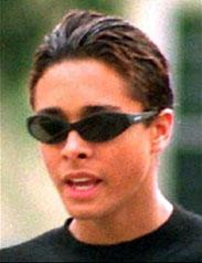 Jordan Chandler valamikor a '90-es évek közepén, második felében