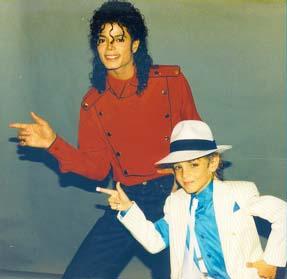 Michael Jackson és Wade Robson 1989-ben