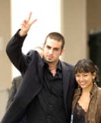 Wade Robson a feleségével