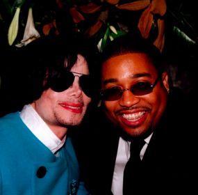 Michael Jackson és Cory Rooney