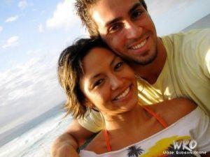 Wade Robson feleségével
