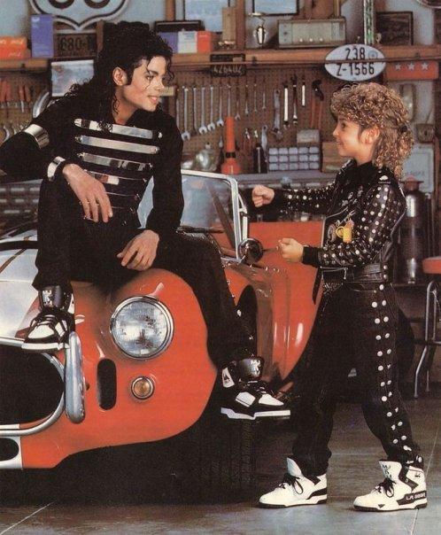 Jackson és Robson az L.A. Gear reklámban